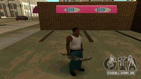 Prince Of Persia Water Sword para GTA San Andreas sétima tela