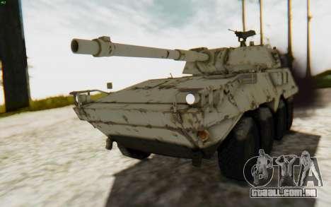 MGSV Phantom Pain STOUT IFV APC Tank v1 para GTA San Andreas