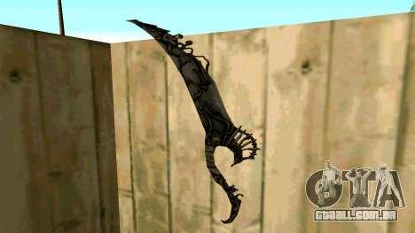 Prince Of Persia Water Sword para GTA San Andreas