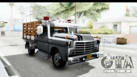 GMC 3100 Diesel para GTA San Andreas vista direita