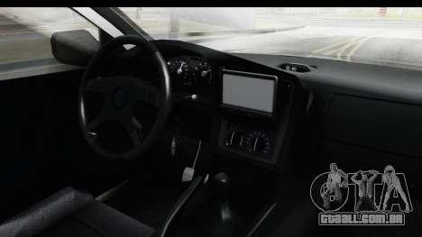 Opel Astra G Variant Polizei Bayern para GTA San Andreas vista interior