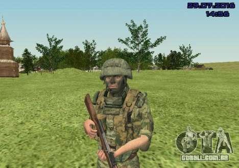 Corpo De Fuzileiros Navais Lutador para GTA San Andreas terceira tela