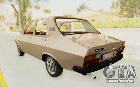 Dacia 1310 TLX para GTA San Andreas esquerda vista