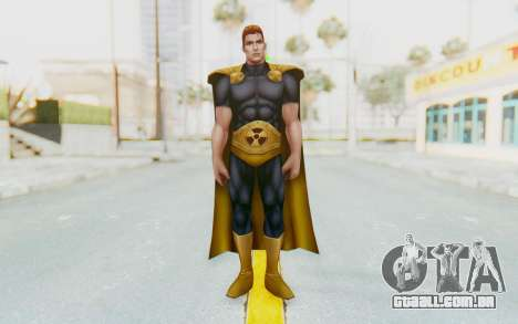 Marvel Future Fight - Hyperion para GTA San Andreas segunda tela