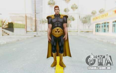 Marvel Future Fight - Hyperion para GTA San Andreas segunda tela
