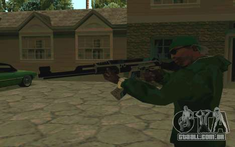 AK-47 Vulcan (SA) para GTA San Andreas terceira tela