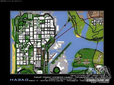 Mapa para SAMP para GTA San Andreas segunda tela