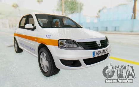 Dacia Logan Facelift Ambulanta para GTA San Andreas