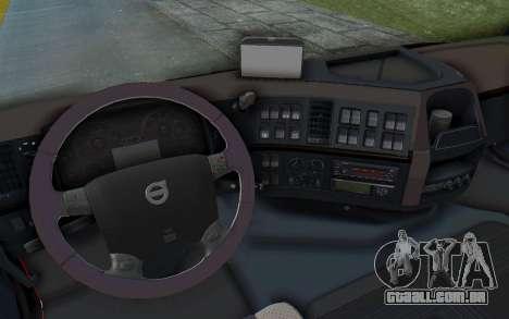 Volvo FMX 6x4 Dumper v1.0 para GTA San Andreas vista superior