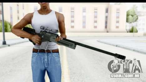 GTA 5 Shrewsbury Sniper Rifle para GTA San Andreas terceira tela