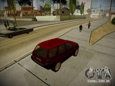 Ford Escape 2005 para GTA San Andreas vista direita