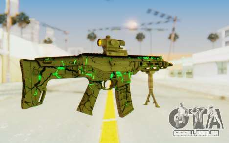 ACR CQB Magma Green para GTA San Andreas terceira tela