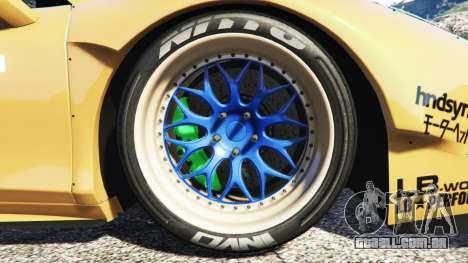 GTA 5 Ferrari 458 Spider [Liberty Walk] traseira direita vista lateral