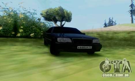 Mercedes-Benz MB W140 1999 para GTA San Andreas esquerda vista