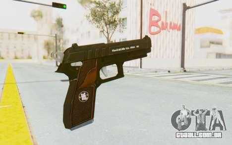 GTA 5 Hawk & Little Pistol para GTA San Andreas terceira tela