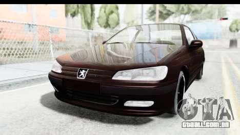 Peugeot 406 Coupe para GTA San Andreas traseira esquerda vista