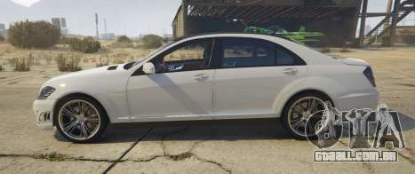 Mercedes-Benz S65 AMG (W221) para GTA 5