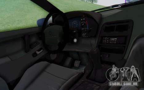 Nissan 300ZX Monster Truck para GTA San Andreas vista interior