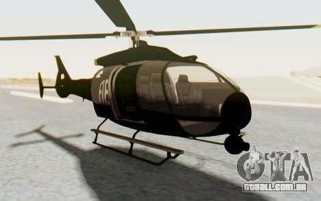 GTA 5 Maibatsu Frogger FIB para GTA San Andreas