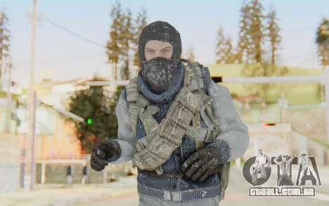 COD BO Bruce Harris Winter para GTA San Andreas