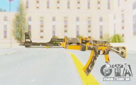 CS:GO - AK-47 Vanquish para GTA San Andreas segunda tela