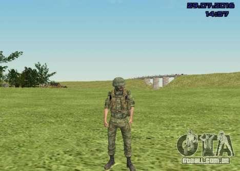 Corpo De Fuzileiros Navais Lutador para GTA San Andreas sexta tela