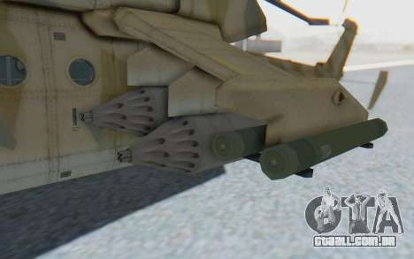 MGSV Phantom Pain HP-48 Krokodil para GTA San Andreas vista traseira