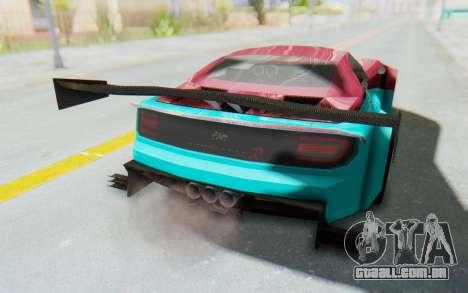 Bumblebee-R para vista lateral GTA San Andreas