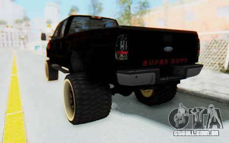 Ford Super Duty Off-Road para GTA San Andreas esquerda vista