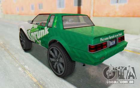GTA 5 Willard Faction Custom Donk v1 para GTA San Andreas