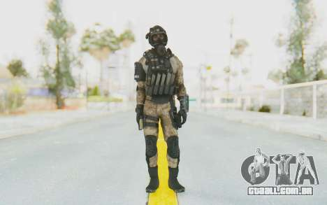 Federation Elite SMG Desert para GTA San Andreas segunda tela