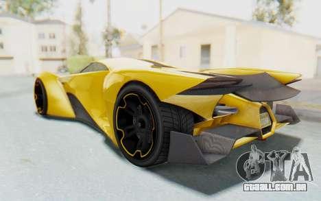 GTA 5 Grotti Prototipo v2 IVF para GTA San Andreas esquerda vista