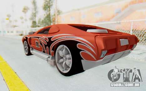 Hot Wheels AcceleRacers 2 para GTA San Andreas esquerda vista
