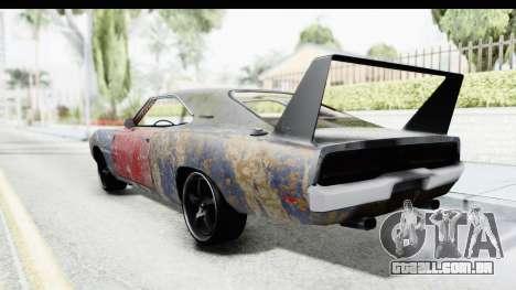 Dodge Charger Daytona F&F Bild para GTA San Andreas esquerda vista