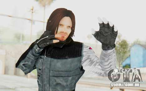 Bucky Barnes (Winter Soldier) v1 para GTA San Andreas