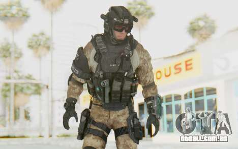 Federation Elite Assault Desert para GTA San Andreas