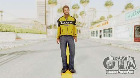 Dead Rising 3 Chuck Greene on DR2 Outfit para GTA San Andreas segunda tela
