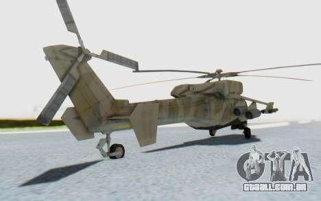 MGSV Phantom Pain HP-48 Krokodil para GTA San Andreas esquerda vista