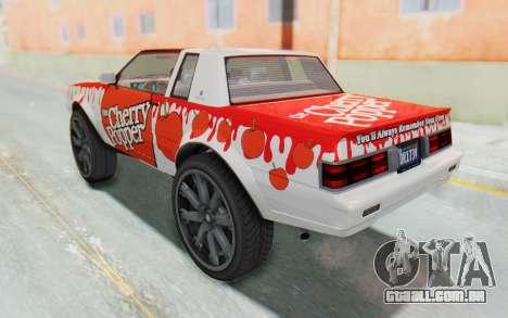 GTA 5 Willard Faction Custom Donk v1 para GTA San Andreas vista superior
