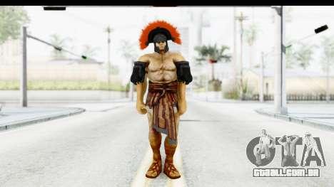 God of War 3 - Hercules v1 para GTA San Andreas segunda tela