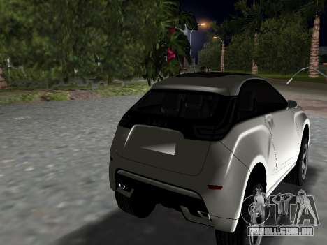 Lada X-Ray para GTA Vice City deixou vista