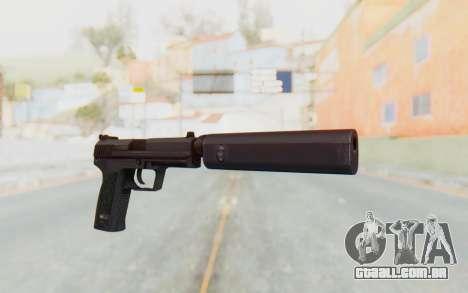 H&K 45 Silenced para GTA San Andreas segunda tela