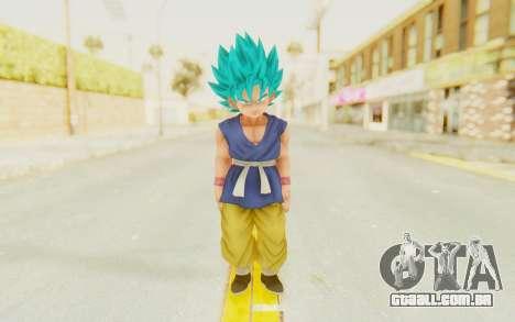 Dragon Ball Xenoverse Goku Kid GT SSGSS para GTA San Andreas segunda tela