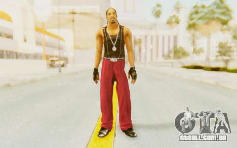 Def Jam Fight For New York - Snoop Dogg para GTA San Andreas segunda tela