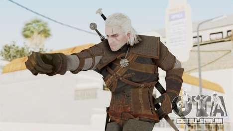 The Witcher 3: Wild Hunt - Geralt of Rivia para GTA San Andreas