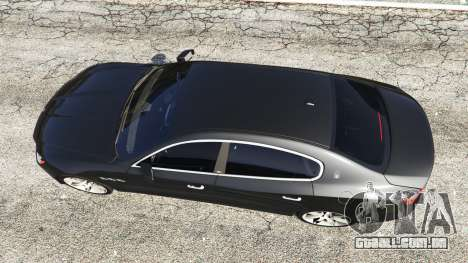 GTA 5 Maserati Quattroporte 2013 voltar vista