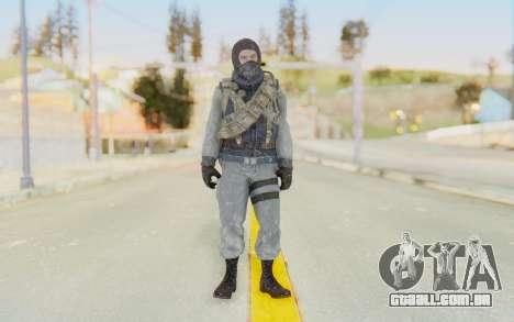 COD BO Bruce Harris Winter para GTA San Andreas segunda tela