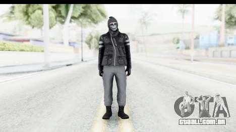 GTA Online Skin (Heists) para GTA San Andreas segunda tela