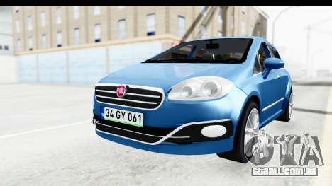 Fiat Linea 2014 Wheels para GTA San Andreas