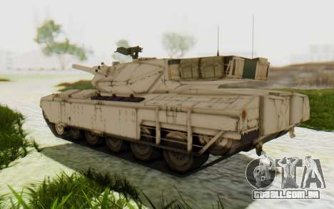MGSV Phantom Pain M84A MAGLOADER para GTA San Andreas vista direita